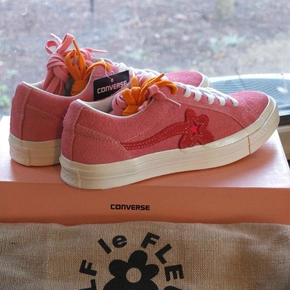 Converse Shoes One Stargolf Le Fleur Unos Geranium Pink Poshmark